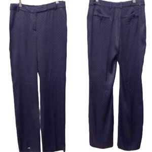Massimo Dutti Pants Purple/Black Pattern